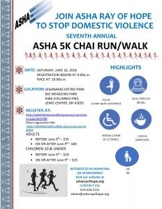 ASHA 5K race